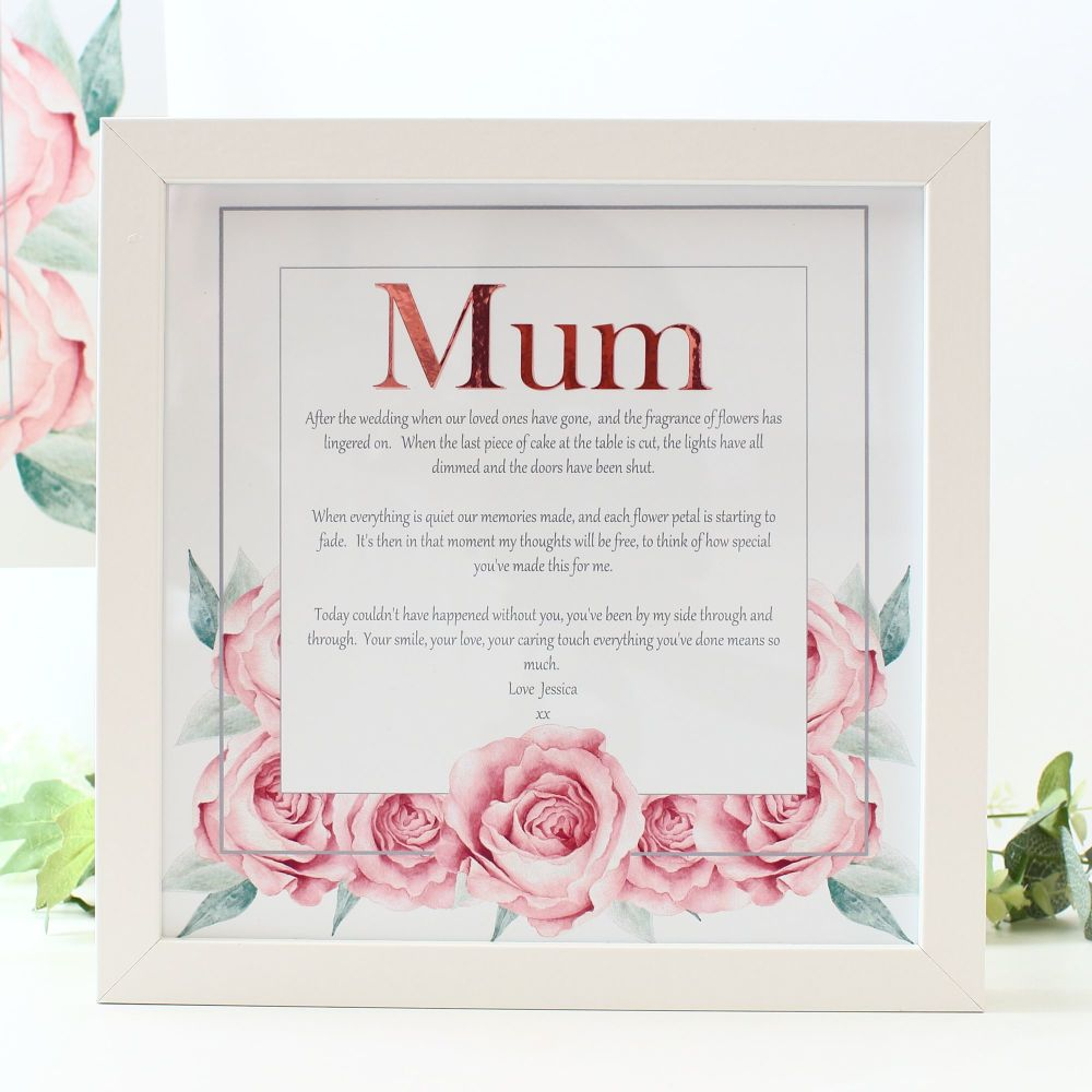 <!-- 169 -->Rose Collection - Personalised Frame