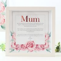 <!-- 092 -->Rose Collection - Personalised Frame