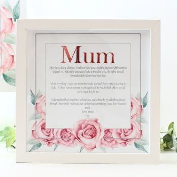 Rose Collection - Personalised Frame
