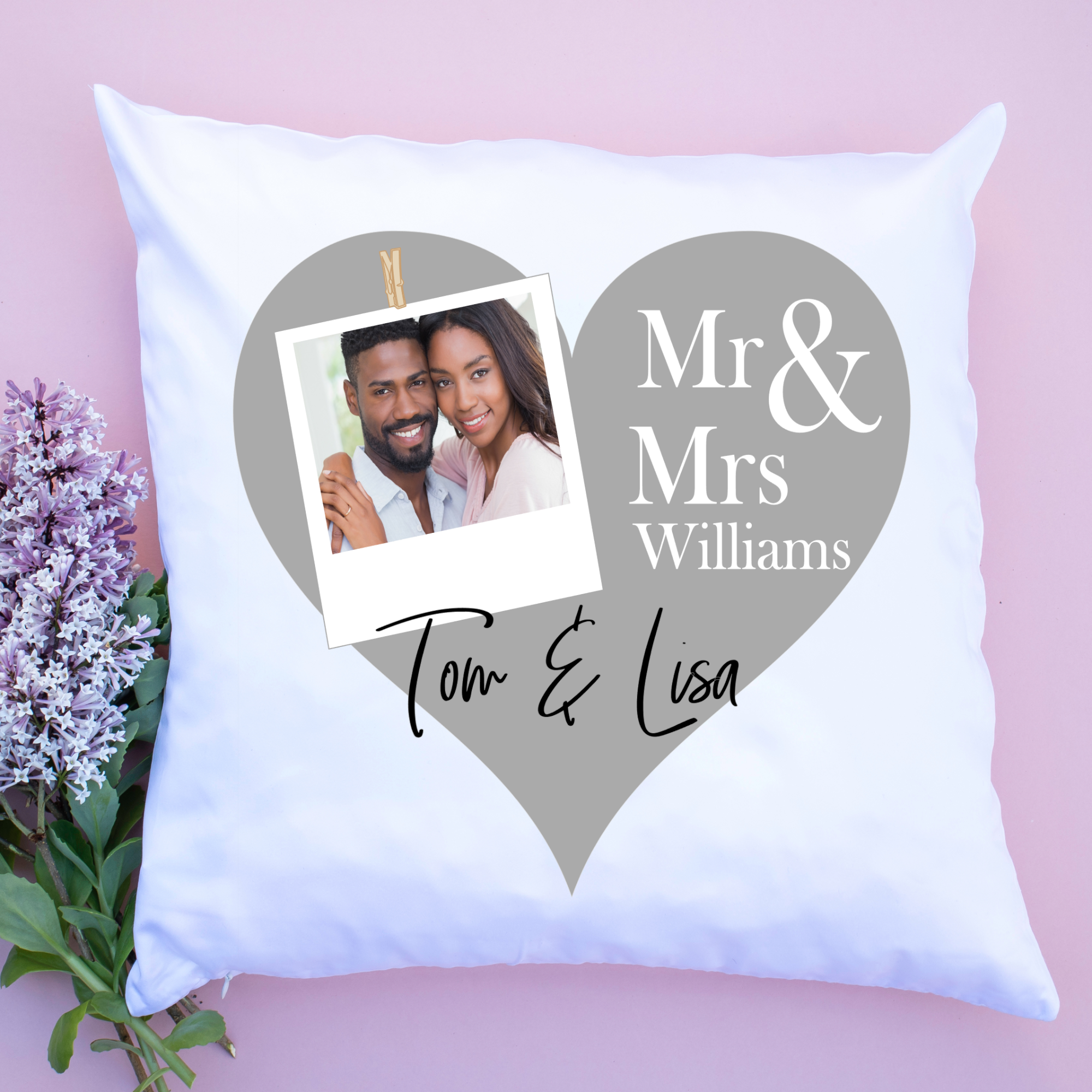Luxury personalised cushion covers