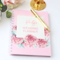 <!-- 093 -->Personalised notebook - Wedding planner