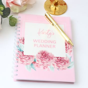 Personalised notebook - Wedding planner