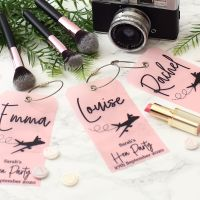 <!-- 089-->6 Luggage tags - Hen party (6 colours)