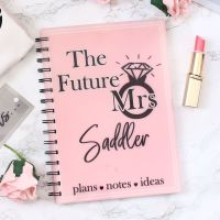 <!-- 084 --> Future Mrs - Personalised notebook (6 colours)