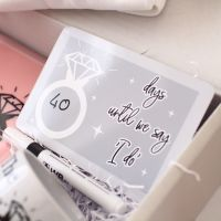 <!-- 082 --> Future Mrs - Dryerase countdown plaque
