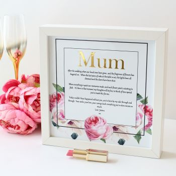 Rose Collection Garden - Personalised Frame