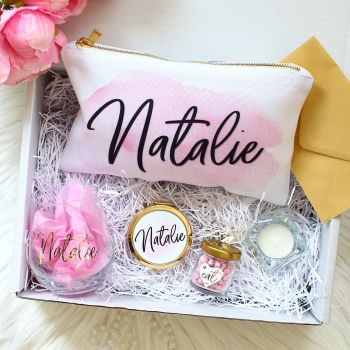 Gift Box - Pink & Gold
