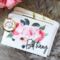 <!-- 072--> Makeup bag - Rose Garden
