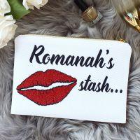 <!-- 070--> Makeup bag - Glitter lips