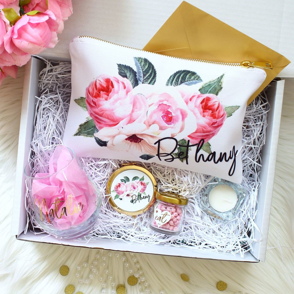 <!-- 077--> Gift Box - Rose Garden