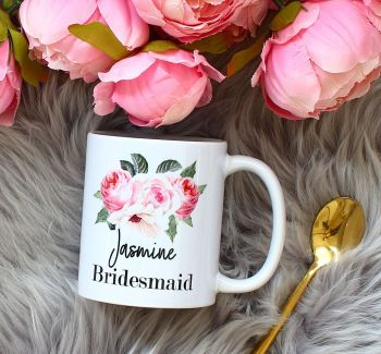 The Rose Garden Collection - Bridesmaid mug