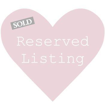 Reserved for Janine Porter