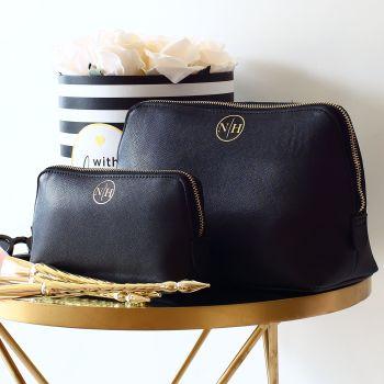 Monogram Saffiano boutique bag