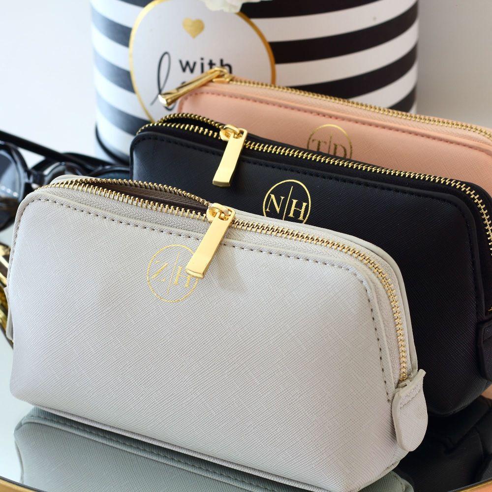 <!-- 007 --> Monogram Saffiano boutique bag (Sml)