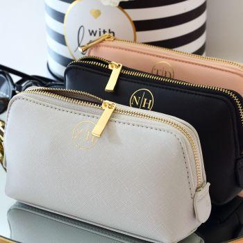 Monogram Saffiano boutique bag (Sml)
