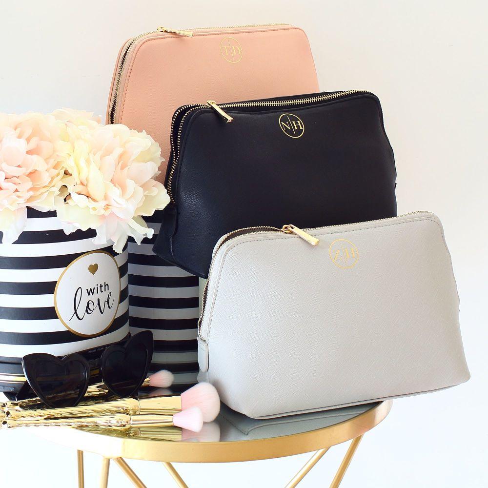 <!-- 008 --> Monogram Saffiano boutique bag (Lge)