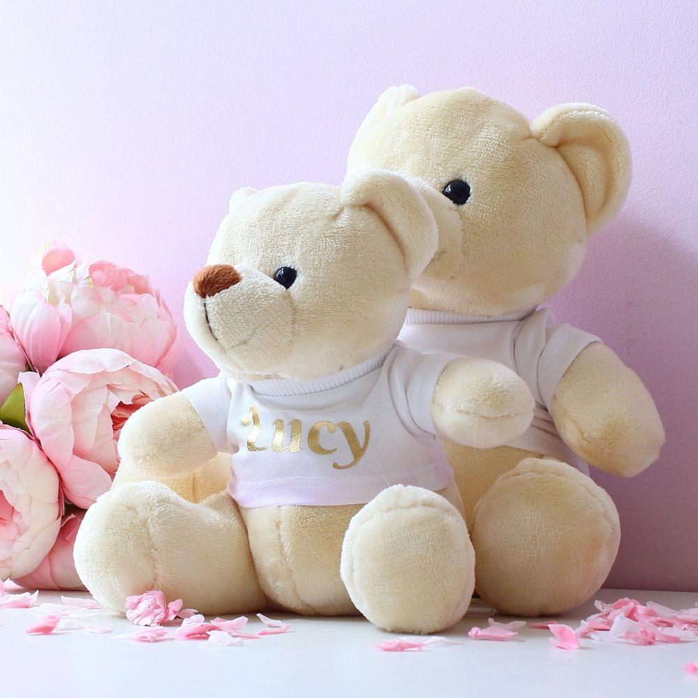 <!-- 200-->  Velvet teddy bears