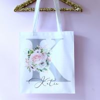 <!-- 041--> Tote bags to match our satin lace gowns