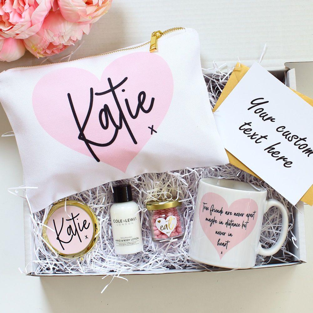 <!-- 075--> Gift set- Pink heart
