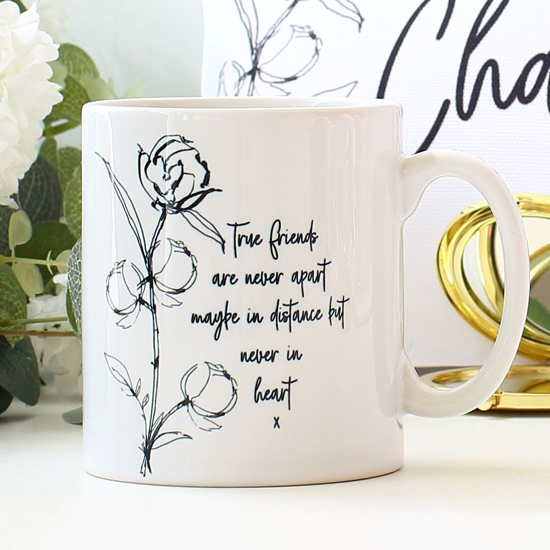 Friendship mug - fine art