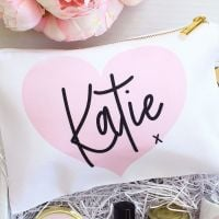 <!-- 061--> Makeup bag - sealed with a kiss (6 colours to choose)