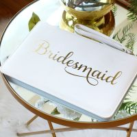 <!-- 010--> Bridesmaid clutch bag