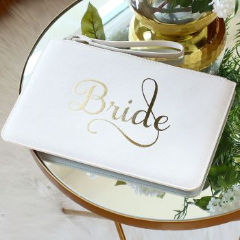 Bride clutch bag