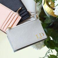 <!-- 011-->  Personalised saffiano wallet