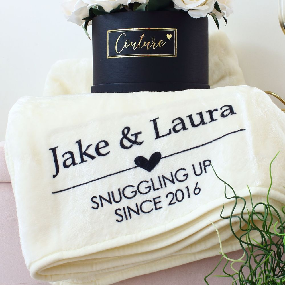 Snuggle blanket - couples