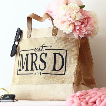 Luxury natural shopper