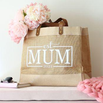 Luxury natural shopper m