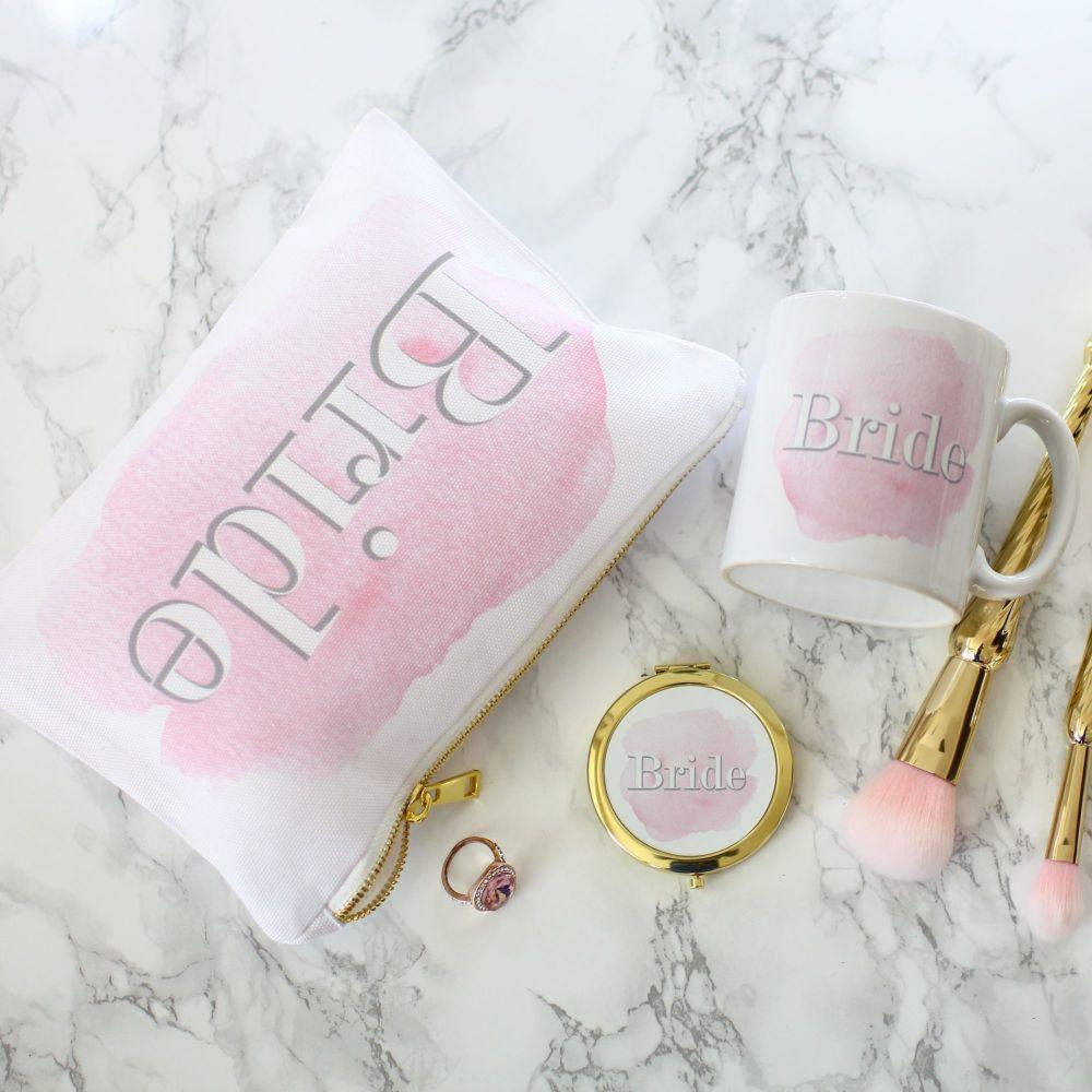 Accessory pouch & mirror - Bride