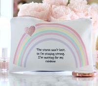 <!-- 054--> Accessory pouch & mirror - Rainbow