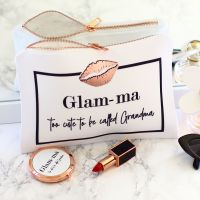 <!-- 052--> Accessory pouch & mirror - Glam-ma