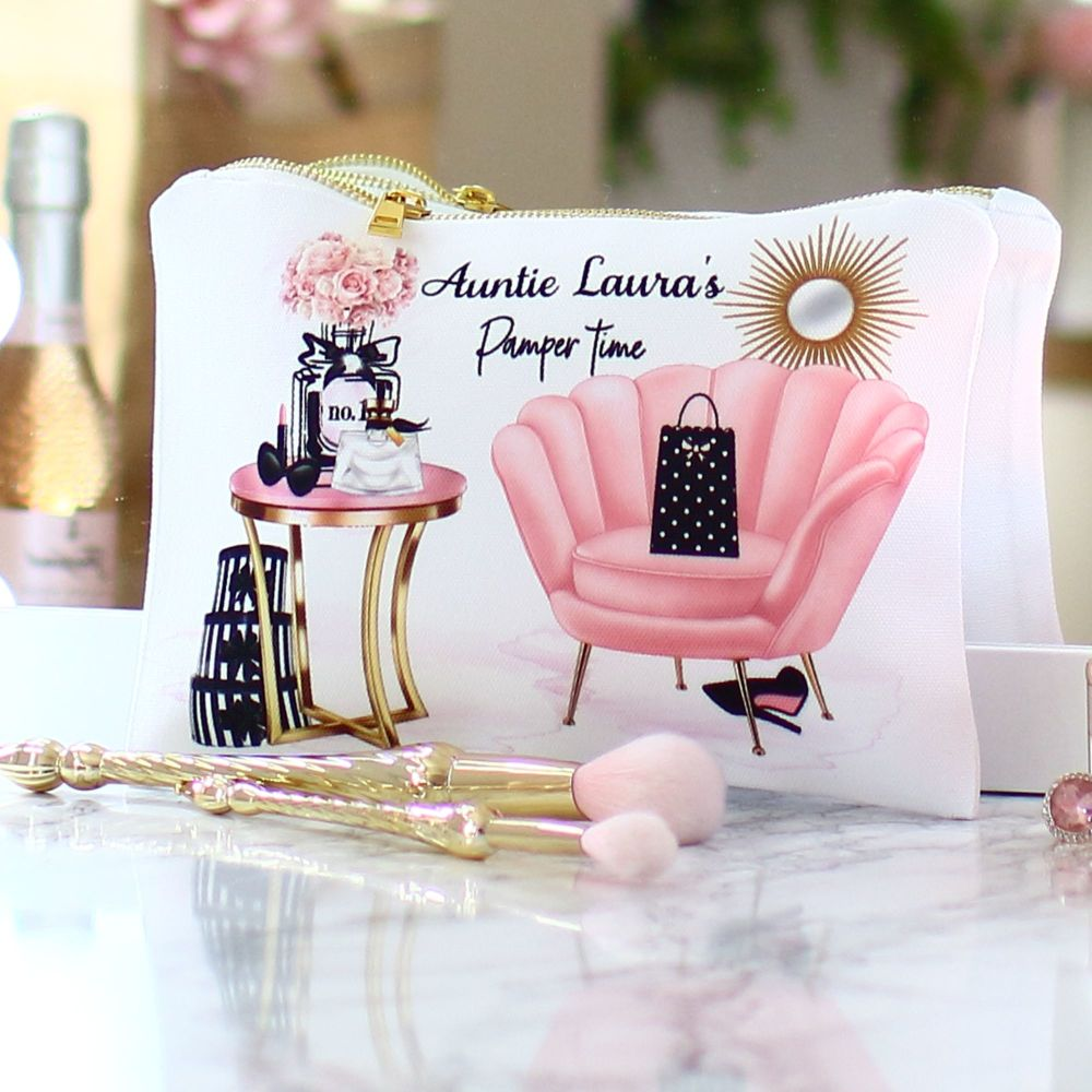 Accessory pouch & mirror - Pamper time