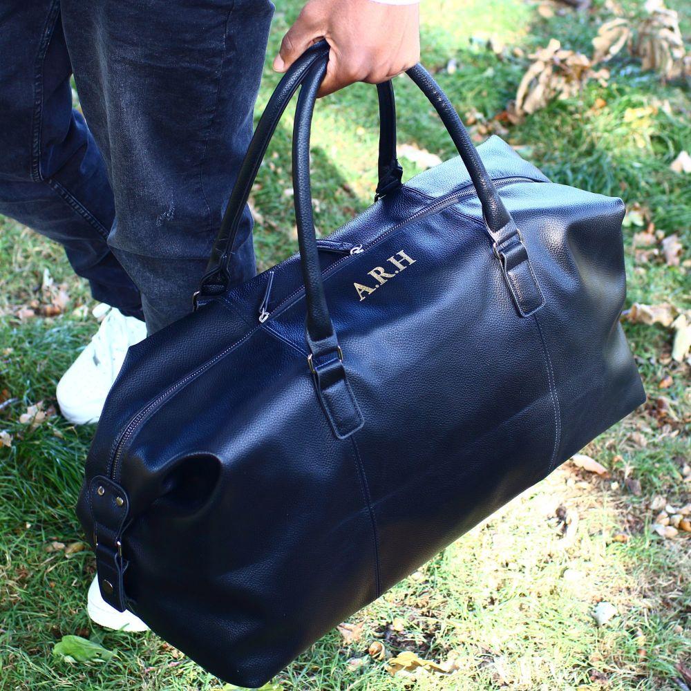 NuHide weekender Bag - Black