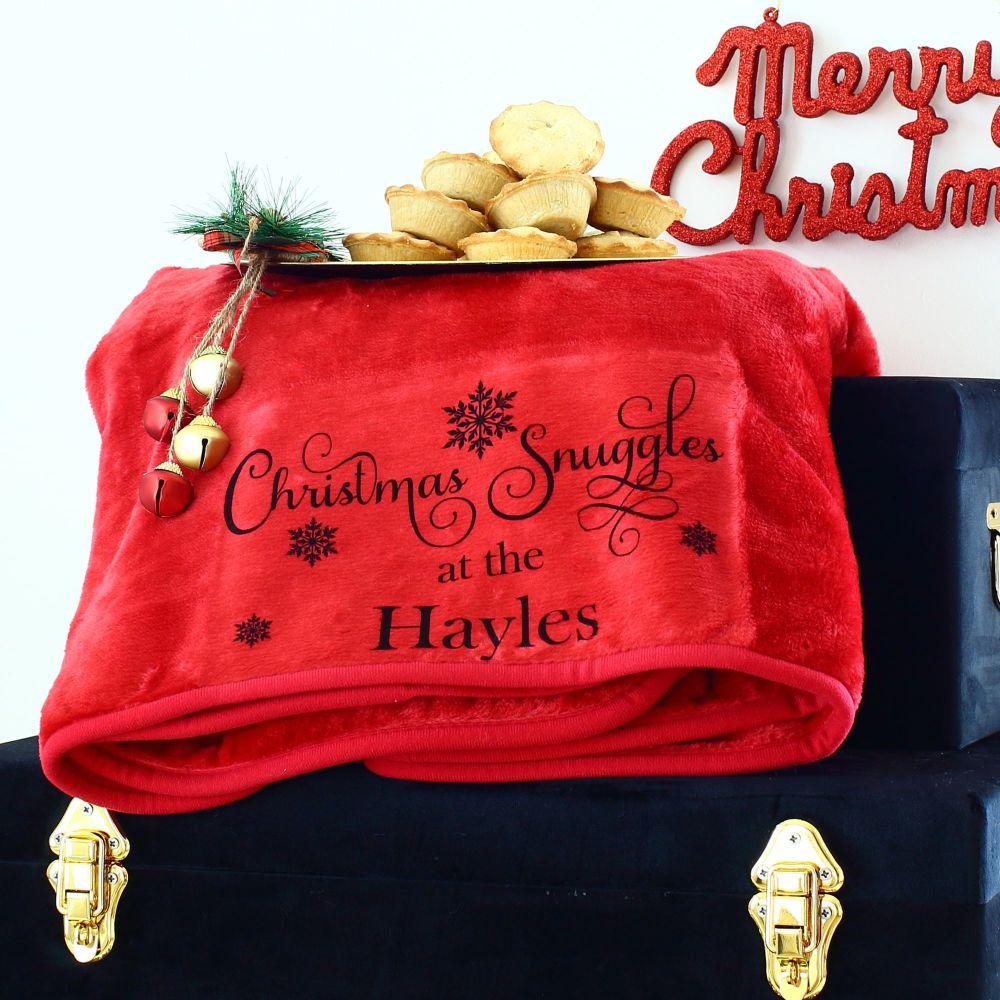<!-- 103-->Snuggle blanket - Christmas