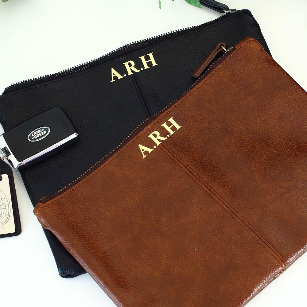 <!-- 081 --> Nuhide accessory pouch