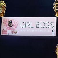 <!-- 179 -->Metal sign - Girl Boss