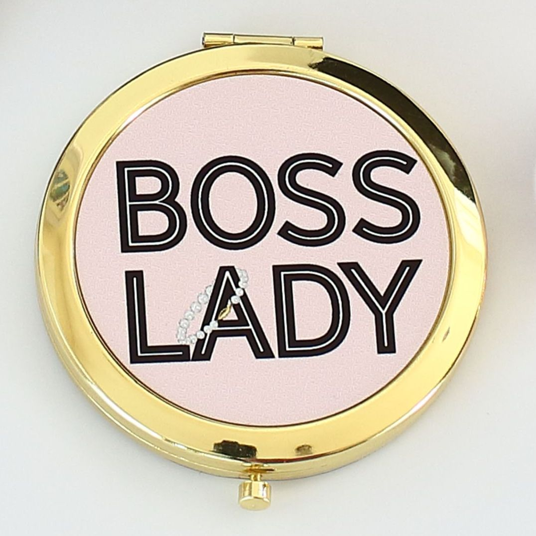 Compact mirror - Boss Lady