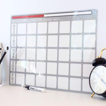 Dry erase revision planner - E2