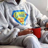<!-- 207-->Snuggle hoodie- Super....