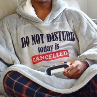 <!-- 212-->Snuggle hoodie- DO NOT DISTURB