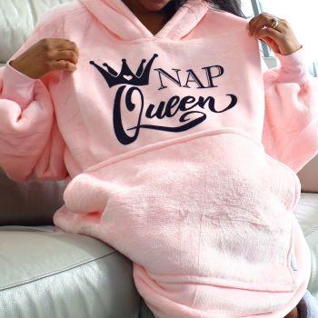 Snuggle hoodie- Nap King & Queen