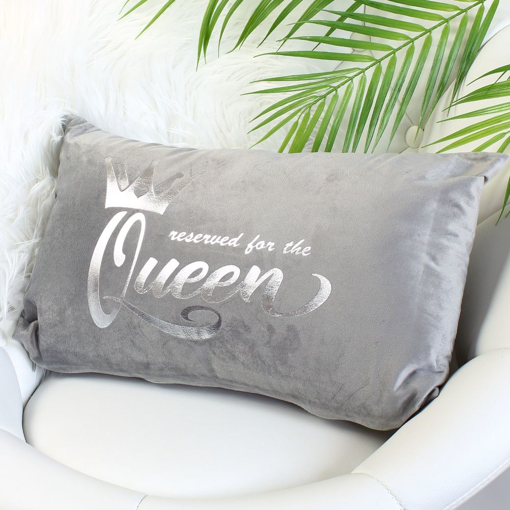 Velvet cushion - Queen