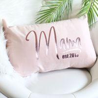 <!-- 083 --> Velvet cushion - Mama