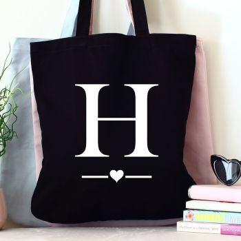 Organic tote bag - Alphabet
