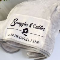 <!-- 106-->Snuggle blanket  - Address