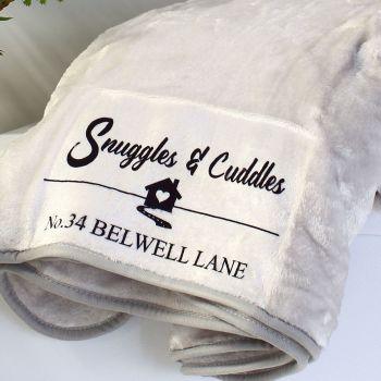 Snuggle blanket  - Address