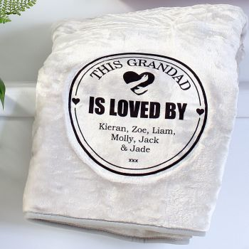 Snuggle blanket  - Loved by....